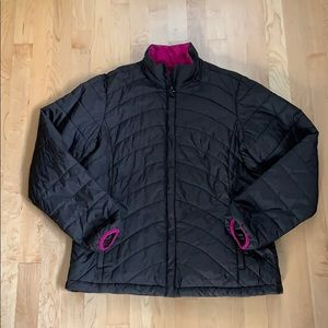 Lands' End puffy coat